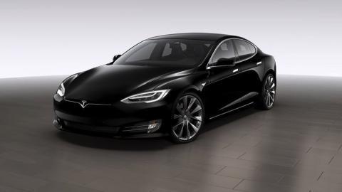 Tesla Model S - llantas Sonic Carbon Twin Turbine