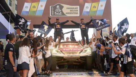 El triunfo de Peugeot en el Dakar del 2017