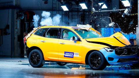 euroncap seguridad coches accidente impacto