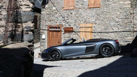 Audi R8 Spyder prueba
