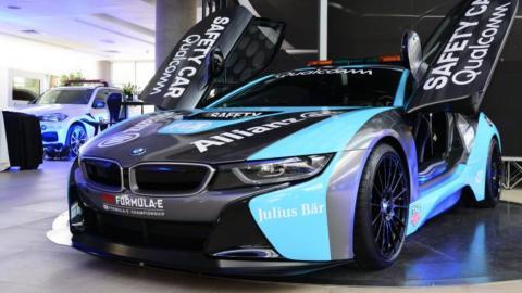 BMW i8 safety car Fórmula E 2019