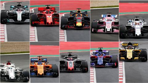Compilación presentaciones F1 2018