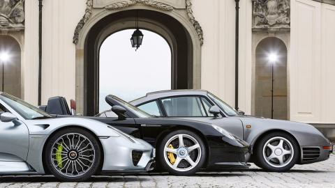 Los deportivos más salvajes de Porsche