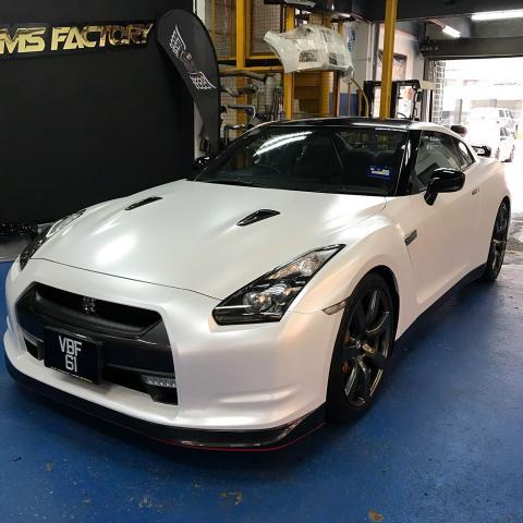 Dreams Factory Automotive wrapped