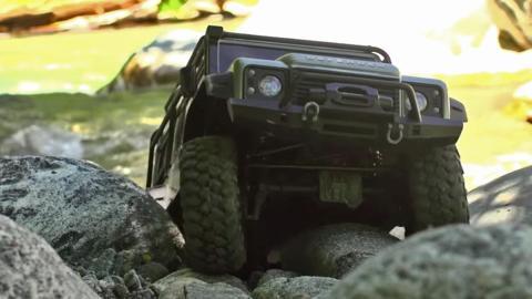 El Land Rover Defender de Traxxas