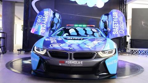 Nuevo BMW i8 'safety car' Fórmula E 2019