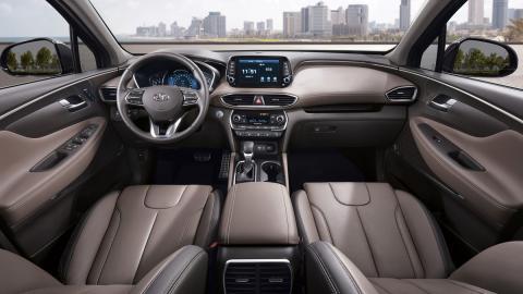 Nuevo Hyundai Santa Fe 2018 (interior)