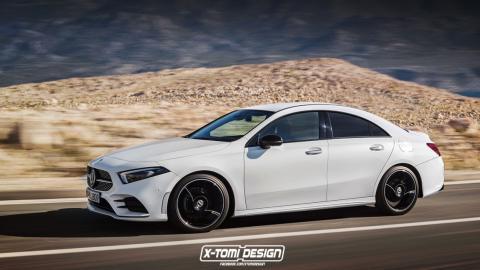 Nuevo Mercedes CLA (render X-Tomi Design)
