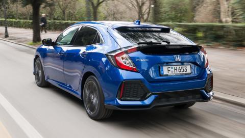 Prueba del Honda Civic diésel 1.6 i-DTEC