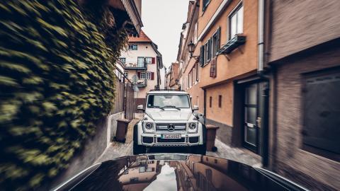Calles estrechas, coche grande... todo ideal