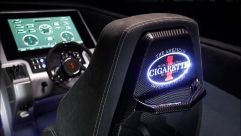 Puesto de mando del  Cigarette Racing 515 Project One Mercedes AMG