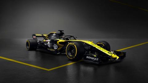 Renault RS18 de Carletes Sainz