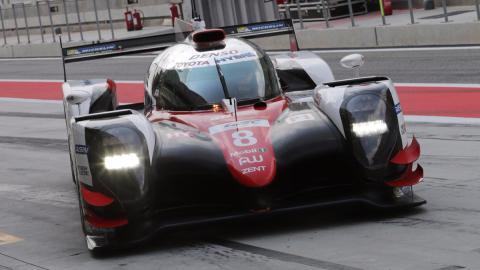 El Toyota de Alonso para el WEC