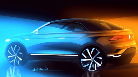 Volkswagen T-Roc Cabrio teaser
