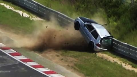 Accidentes del Grupo VAG en Nürburgring