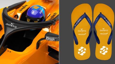 Chanclas Halo McLaren