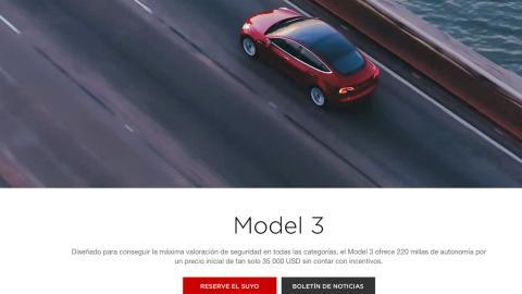 Comprar Tesla Model 3