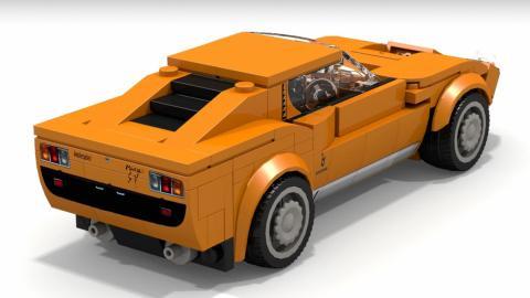 Lamborghini Miura de Lego