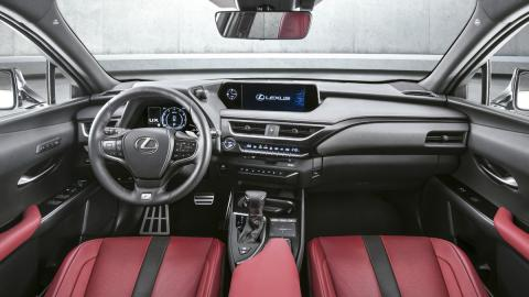 Lexus UX (interior)