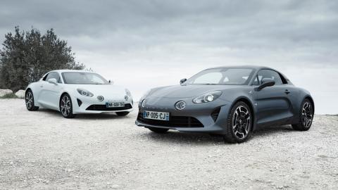 Nuevas versiones Alpine A110: Alpine A110 Pure y Alpine A110 Légende