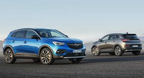 Opel Crossland X y Grandland X