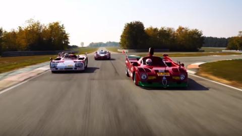 Alfa Sport Prototypes Type 33 Legends