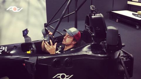 Alonso simulador Le Mans