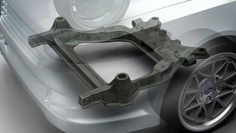 Así es el nuevo subchasis de Ford