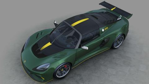 Cenital del Lotus Exige Cup 430 Type 25