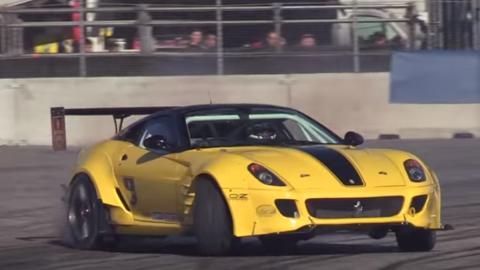 Drifting 599 Fiorano