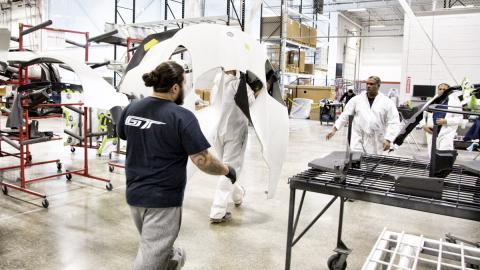 Fábrica Ford GT (capó)