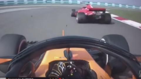 El hachazo de Alonso a Vettel en el GP China F1 2018