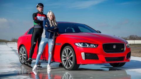 Jaguar XE 300 Sport (récord)