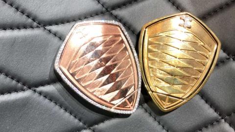 Llaves de lujo Koenigsegg