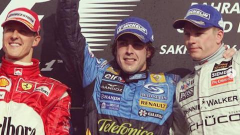 Momentos GP Baréin F1