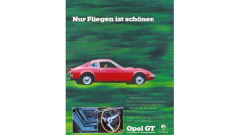 Opel GT publicidad