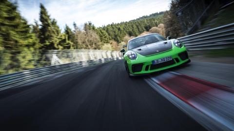 Porsche 911 GT3 RS en Nürburgring