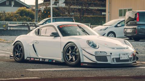 Porsche Cayman GT3 de M´s Machine Works