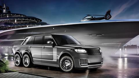 El Range Rover 6x6 de T. Fotiadis Design