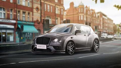 Render Bentley utilitario