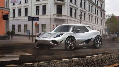 Render Koenigsegg utilitario