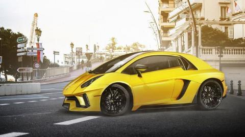 Render Lamborghini utilitario