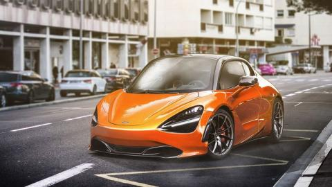 Render McLaren utilitario