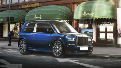Render Rolls-Royce utilitario