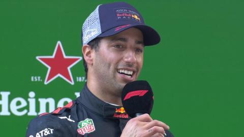 Ricciardo se lleva el GP de China F1 2018