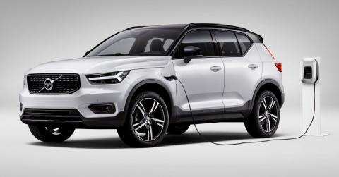Un PHEV para el crossover pequeño de Volvo