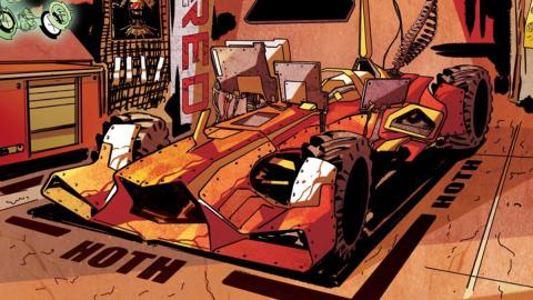 WE RACE: el primer cómic de la Scuderia Ferrari