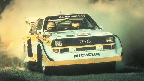 Audi Quattro A1 Walter Röhrl