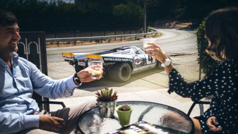 Brunch a lo Porsche 917K en Mónaco