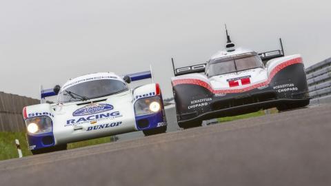 Disfruta con los Porsche 956 y 919 en Nurburgring